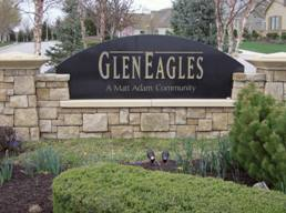 Estates of GlenEagles subdivision OP KS Entry
