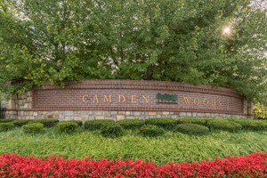 Entry Monument for Camden Woods Leawood KS - 143rd St Entrance