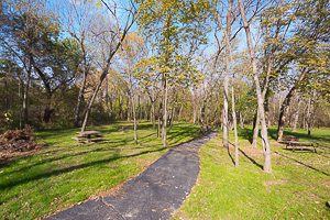 Hike and Bike Trail at Forest Park Estates Shawnee