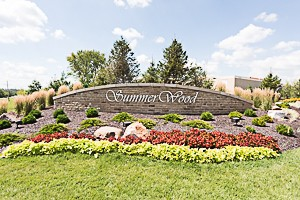 Entry Monument for Summerwood subdivision Overland Park KS