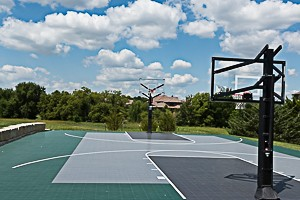 Basketball Court at Summer Wood neighborhood Overland Park KS