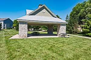 Arbor Creek Estates Olathe KS neighborhood picnic pavilion