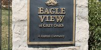 Grey Oaks Eagle View entry monument