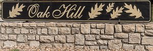 Neighborhood monument for Oak Hill