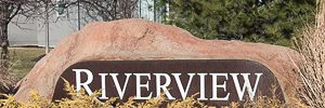 Neighborhood monument for Riverview
