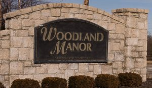 Woodland Manor Neighborhood Monument